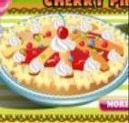 Fazer torta de cereja