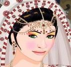 Vestir menina oriental
