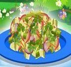 Fazer salada nutritiva