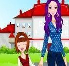 Ir pra escola com mamãe