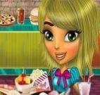 Jantar na casa de Mina