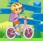 Jogo de Bicicleta da Dora exploradora