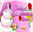 Jogo de Decorar Bolo de Casamento