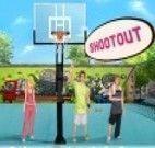 Jogo do basquete de rua