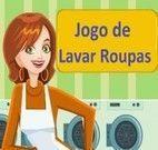 Jogos de lavar roupa e secar e passar e guardar