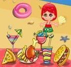 Lanchonete na praia