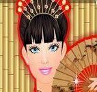 Limpeza de pele Barbie chinesa