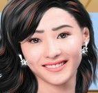 Maquiar atriz de Hong Kong