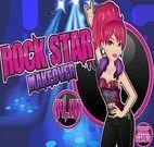 Maquiar garota do Rock Star