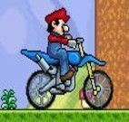 Mario - Andar de moto contra o Zelda