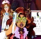 Médico dos olhos para Clawdeen