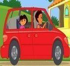Passeio de Carro da Dora com a Mãe
