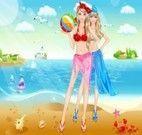 Passeio na Praia com Barbie