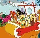Pintar desenhos dos Flintstones