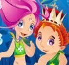 Príncipe e Princesa Sereia