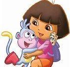 Quebra cabeça da menina Dora