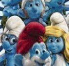 Quebra cabeça Smurfs