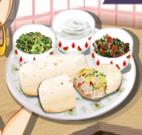 Receita da Sara - burritos