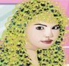 Selena Gomez no cabeleireiro