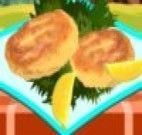 Tortinhas de salmão