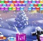 Trinca de bolas para Natal