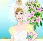 Vestido de noiva da Barbie