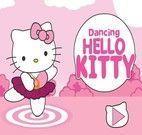 Vestir Dançarina Hello Kitty
