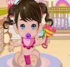 Vestir roupinhas no bebê