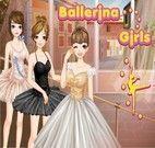 Vestir três bailarinas