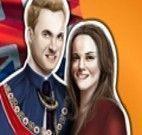 Vestir Príncipe William e Princesa Kate