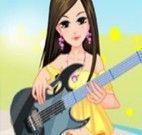 Vestir cantora para o show