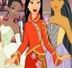 Vestir princesas da Disney