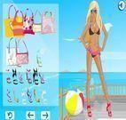 Jogos de moda na praia