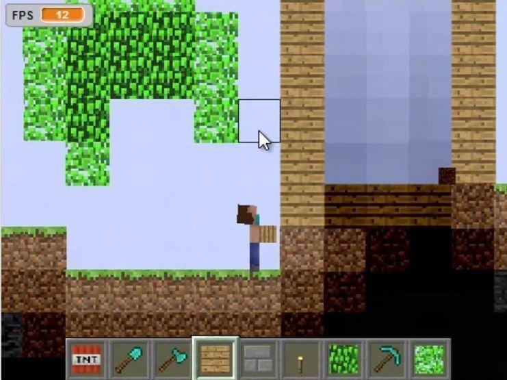 minecraft 2d online