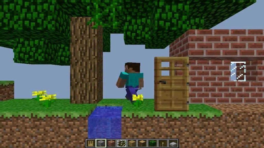 paper minecraft 2D