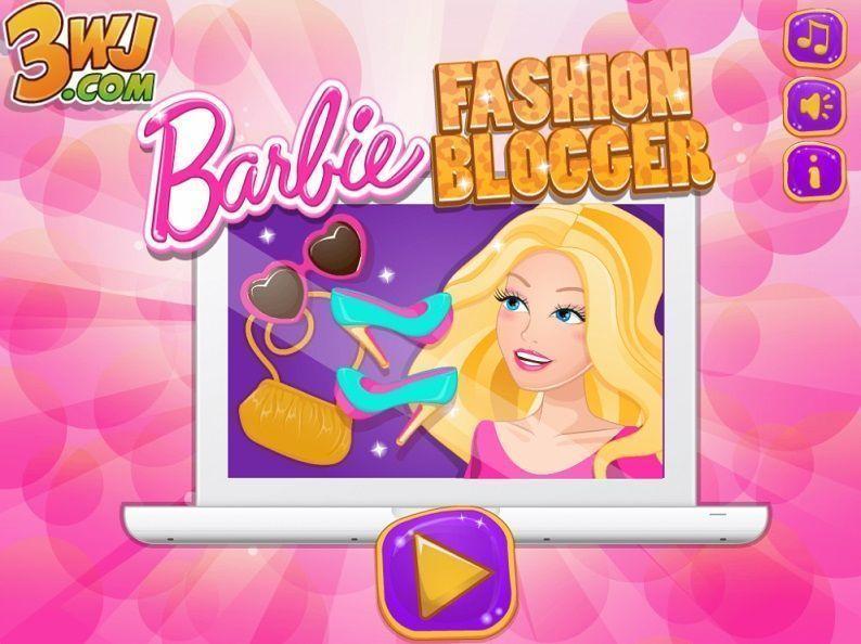 jogo da barbie blogueira